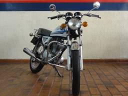 """Honda 125 """"Ovinho"""" raridade 1981"""