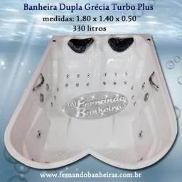 Banheiras Duplas Grécia Turbo Plus Promoção