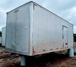 Bau Carga Seca Aluminio Comprar Usado No Brasil 40 Bau Carga