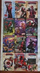 Lote de quadrinhos Deadpool, da Marvel