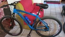 Vendo bicicleta de alumínio 1500
