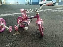 Bicicletas infantis flower aro 12