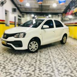 Etios sedan x 1.5 plus mec 19/20 carro impecavel