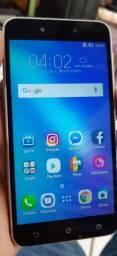 Asus Zenfone Live TV Digital 16GB 2 RAM tudo perfeito apenas marcas de uso