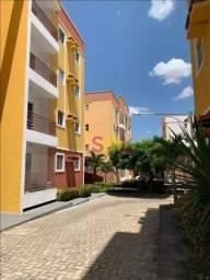 Apartamento no Condomínio Park Rio Sol - com 3 dormitórios para alugar, 69 m² por R$ 1.000
