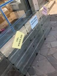 Balcão de vidro expositor