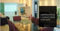 Apartamento com 3 dormitórios à venda, 104 m² por R$ 450.000 - Ponte do Imaruim - Palhoça/