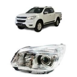 Farol Dianteiro Esquerdo Chevrolet S10 2012 2015 Original