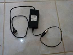 Carregador 36v bateria de chumbo ácido para Patinete Elétrico com Plug XRL