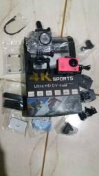 Câmera 4k ,Banco de Carbono