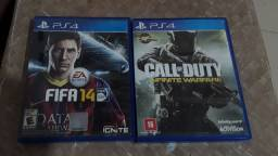 vendo ou troco Fifa 14 e CALL of DUTY