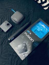 Gopro Fusion 360 - não acompanha cartão de memoria
