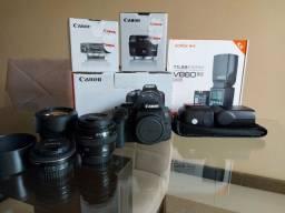 Equipamentos fotográficos Canon (Leia a descrição)