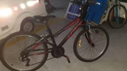Bike caloi aro 20 com 10 marchas