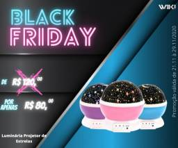 Luminária Projetor de Estrelas-Black Friday-(Lojas Wiki)