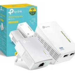 Título do anúncio: Extensor Powerline KIT Wi-Fi Tp Link Rede Elétrica Av600 2 Pack - Loja Natan Abreu