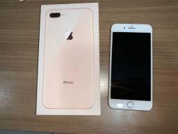 iPhone 8 plus 64gb Dourado com nota fiscal