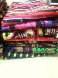 Lote de calças suplex  novas diversas estampas