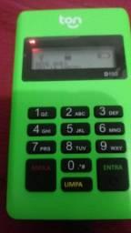 Máquina de cartão de crédito e débito ton t1 com Bluetooth