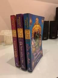 Livros ever after high do 1 até o 3