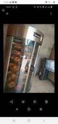Máquina de frango giratória