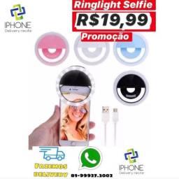 Ring light celular (Selfie) Entregamos (Aceito cartão )