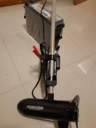 Motor 54lbs e bateria moura estacionaria