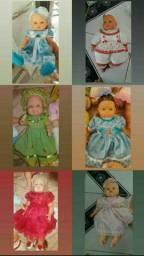 Bonecas de 15 a 40 reais