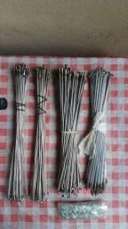 Raios inox e zincado/ pra aro 26 e aro 24 ( faço entrega)