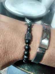 Bracelete Zircônias Pretas