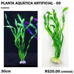Planta Aquática Artificial Verde