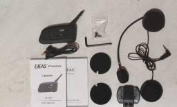 Intercomunicador Comunicador Capacete Moto V6 Intercom