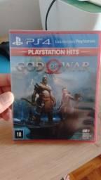 Título do anúncio: God of war 4 Ps4 Novo Lacrado