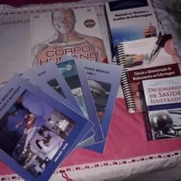 Livros para curso de enfermagem