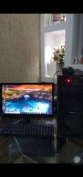 """Título do anúncio: Computador CORE i3 com 16gb memória,  HD 500gb e tela 19"""". Parcelo 12x no cartão"""
