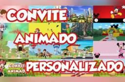 animação ou convite de aniversario animado