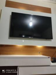 Painel de TV em MDF com luz de LED