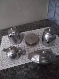 Jogo de café Inox antigo