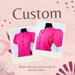 Jaleco Black Pink