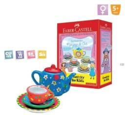 Mini jogo de chá para decorar