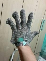 Luva de aço inox de Açougueiro