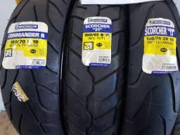 Pneus moto novos variados Michelin