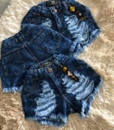 Short jeans no tamanho 44