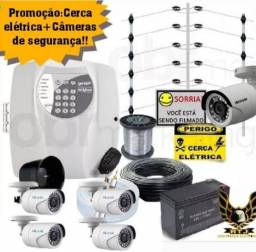 Promoção em Câmeras e Cerca Elétrica!