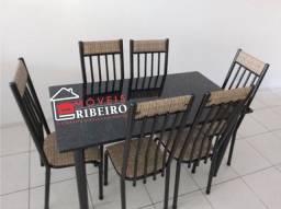 Mesas 6 cadeiras (Entregamos)
