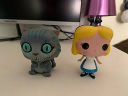 Kit Funko Pop Alice e Cheshire