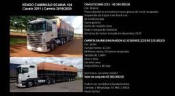 Cavalo Scania 2011 + Carreta Graneleira Randon LS 2019/MOD 2020
