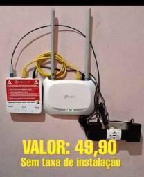 Internet wifi fibra