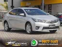 Toyota Corolla GLi 1.8 Flex 16V  Aut. 2017 *Novíssimo* O Sedam mais vendido do Brasil*