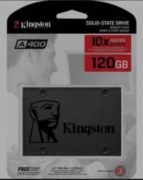Memória ssd 120 GB  kingston nova lacrada no plástico